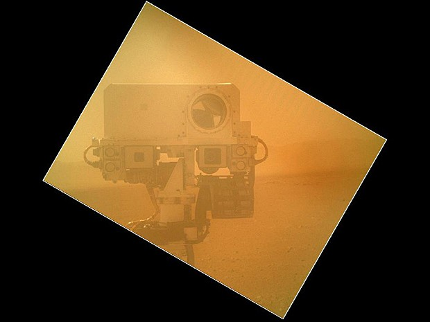 Curiosity autorretrato (Foto: Nasa/JPL-Caltech/Malin Space Science Systems)