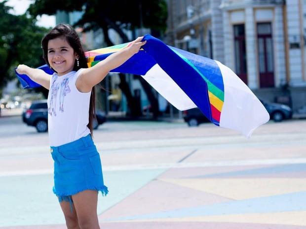 Mini Miss Brasil 2015, Letícia Gabrielle (Foto: Duda Lima)