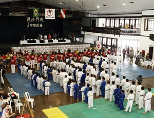 Academia de Lyoto fez evento solidário (Foto: Divulgação / Ascom)