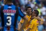 Ronaldinho não sai do banco, e Tigres  de Rafael Sóbis derrota o Querétaro