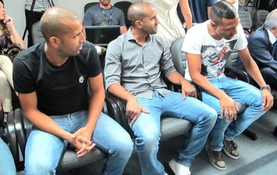 Julgamento Jogadores Botafogo (Foto: Gustavo Rotstein)
