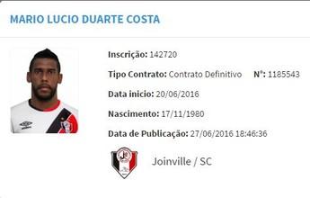 Aranha é registrado no Joinville, e goleiro trabalha para ficar à disposição