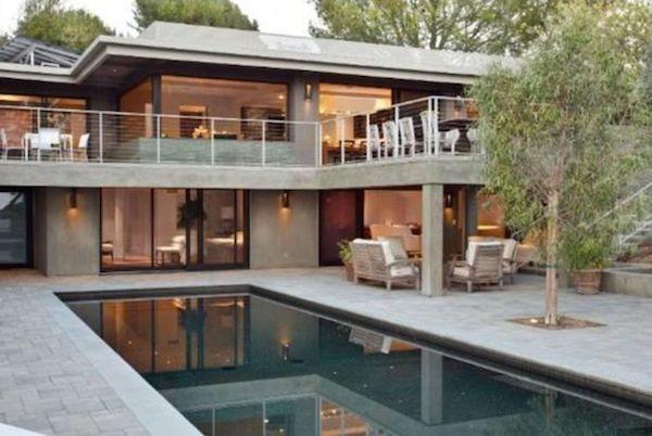 A antiga casa da atriz Jane Fonda (Foto: Divulgação)