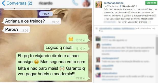 Adriana Sant'anna (Foto: Instagram / Reprodução)