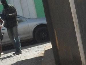 Assalto em Ituberá (Foto: William Ribeiro/Jornal Informe Ativo)