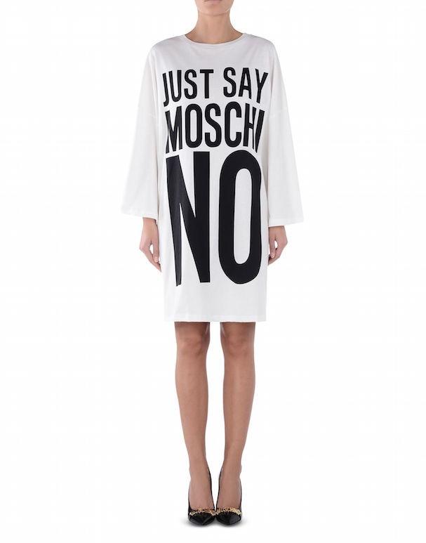 Vestido da coleção cápsula Moschino Primavera/Verão 2017 (Foto: Reprodução)