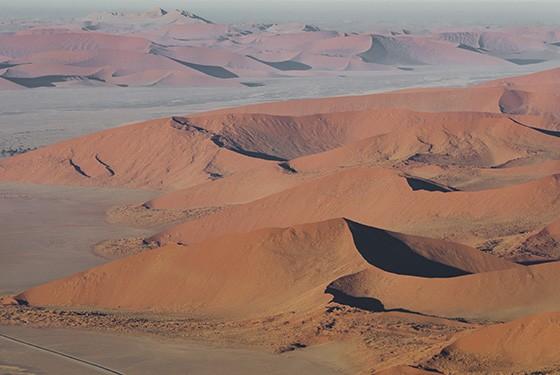 As dunas vermelhas são a alma do Parque Nacional Namib-Naukluft  (Foto: © Haroldo Castro/ÉPOCA)