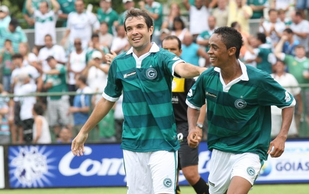 David e Felipe Amorim - Goiás 2012 (Foto: Mantovani Fernandes / O Popular)