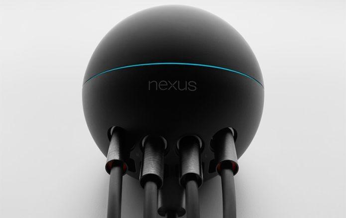 O modelo Q da série Nexus foi a aposta do Google em uma central multimídia (Foto: Divulgação/Google)