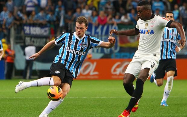 Lucas Coelho teve boa atuação pelo Grêmio contra o Corinthians (Foto: Lucas Uebel/Grêmio FBPA)
