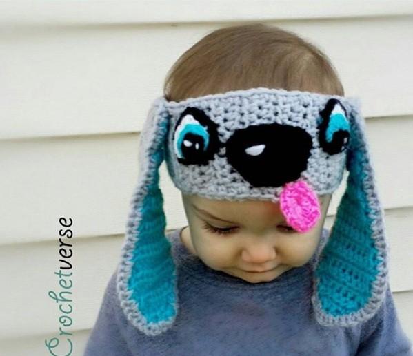 Protetor de orelha de cachorro (Foto: Reprodução Crochetverse)
