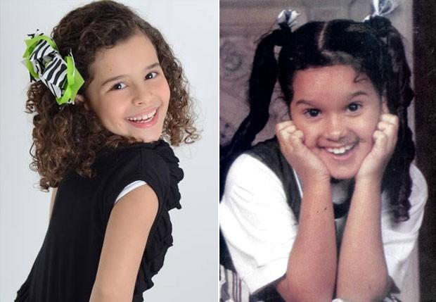TATI – Gabriella Saraivah interpretará órfã que foi vivida por Ana Olívia Seripieri nos anos 90 (Foto: Reprodução)
