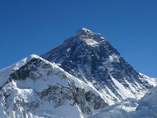O Everest, monte mais alto do mundo (Foto: Pavel Novak/Creative Commons)