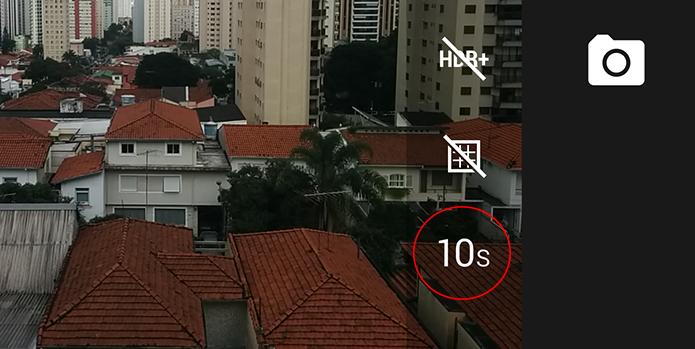 Timer pode ser acessado no menu lateral do aplicativo (Foto: Reprodução/Paulo Alves)