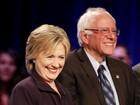 Após briga sobre vazamento de dados, Hillary e Sanders se enfrentam