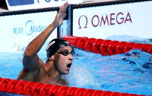 Felipe Lima natação Mundial Barcelona (Foto: Satiro Sodre / SSPress)