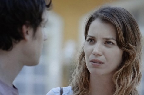 Laura (Nathalia Dill) e Caíque (Sergio Guizé) (Foto: Reprodução)