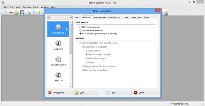 screenshot de Nero 12