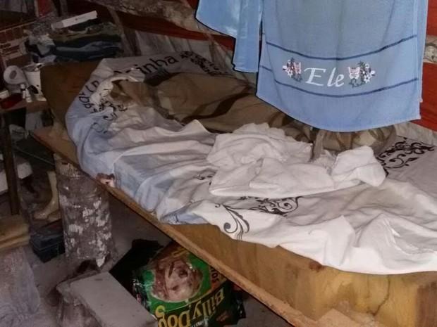 Situação de trabalho escravo foi descoberta durante operação em Mato Grosso (Foto: Assessoria/Polícia Civil de MT)