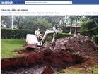 'Chamei uma escavadeira', diz Scarpa sobre buraco para enterrar carro