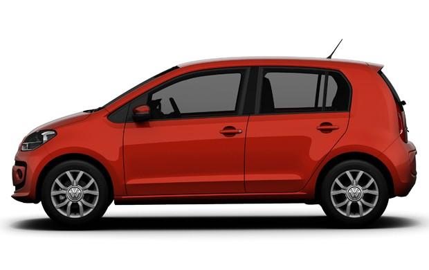Volkswagen Up! brasileiro (Foto: Divulgação)