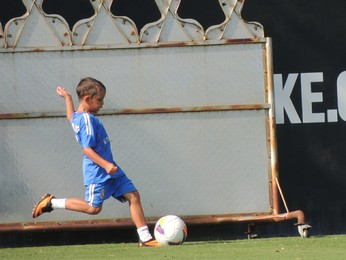 Filho Diego Aguirre Inter (Foto: Tomás Hammes / GloboEsporte.com)