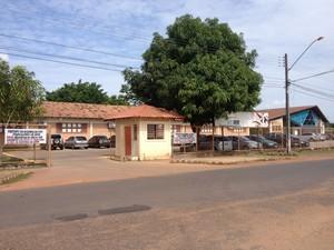 Campus Boa Vista da Universidade Estadual de Roraima (UERR) (Foto: Vanessa Lima/G1 RR)