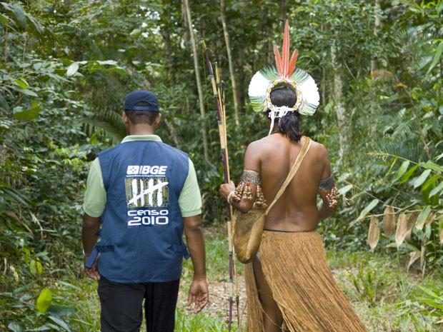 IBGE divulgou Censo sobre a população indígena no país (Foto: Divulgação/IBGE)