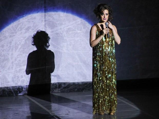 Alesasndra Maestrini  em prêmio de teatro em São Paulo (Foto: Manuela Scarpa/ Foto Rio News)
