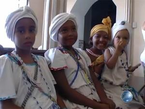 Lavagem Itapuã Salvador Bahia 2 (Foto: Reprodução/TV Bahia)