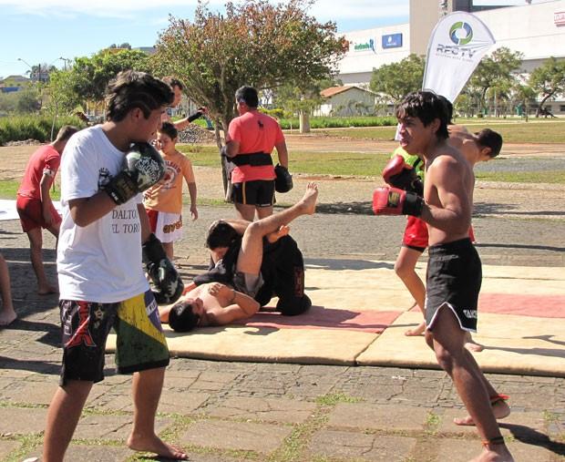 RPC TV na Praça Ponta Grossa 21.07 (Foto: Divulgação/RPC TV)