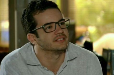 Thiago Mendonça, o Felipe de 'Em família' (Foto: Reprodução)