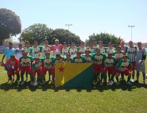 Equipe de futebol da OAB/AC, participa de Campeonato Sul-americano. (Foto: Cedida)