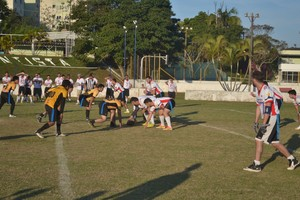 Mogi das Cruzes Desbravadores de Mogi São José Jet Flag Football (Foto: Thiago Fidelix)