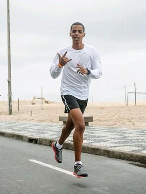 Rômulo Natividade corrida Eu Atleta (Foto: Patricia Palhares / Globoesporte.com)