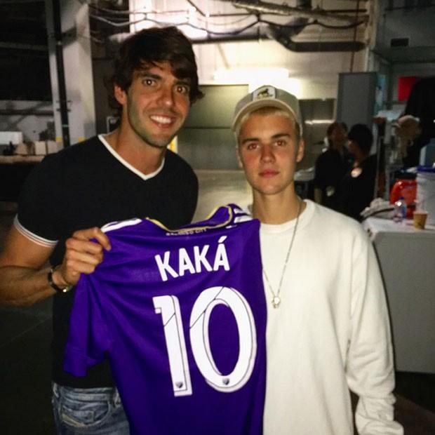 ¿Cuánto mide Justin Bieber? - Altura: 1,73 - Real height Kaka-e-bieber
