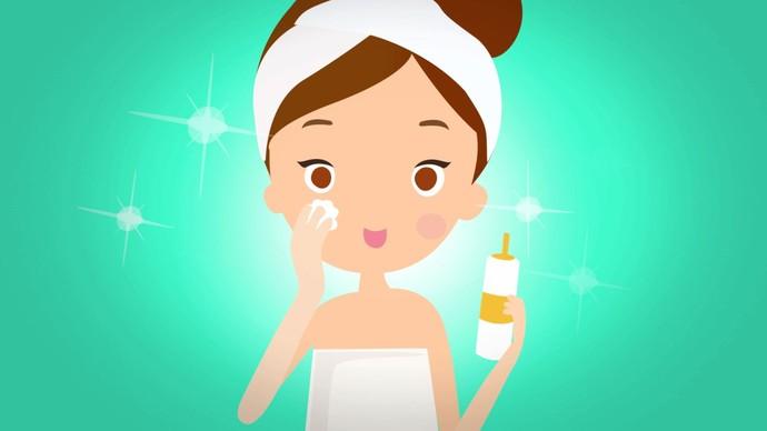 Aprenda o passo a passo e cuide da pele de forma segura e saudável (Foto: TV Sergipe)