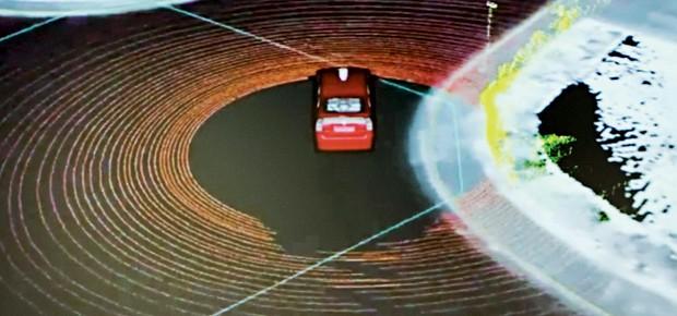 Tecnologia, Carros, Transporte, Google, Radar a laser, carro-robô (Foto: Elijah Nouvelage)