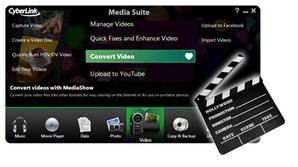 edição conversão vídeos