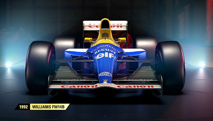 Williams FW14B de 1992 estará no game F1 2017