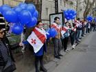 Milhares de georgianos protestam contra compra de gás da Rússia