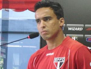 Jadson, meia do São Paulo (Foto: Daniel Romeu / Globoesporte.com)