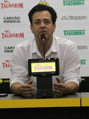 Marcos Moura Teixeira Criciúma (Foto: Fernando Ribeiro/Criciúma EC)
