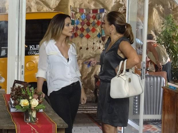 Bianca confessa: está apaixonada por Zyah (Foto: Salve Jorge/TV Globo)