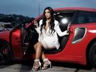 Amanda Djehdian encarna Kim Kardashian em ensaio de moda: 'Só me faltam os milhões!'