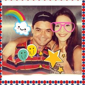 David Brazil e Ivete (Foto: Reprodução/Instagram)