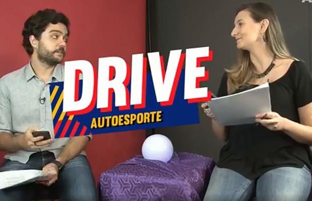 As previsões para 2018 no primeiro programa Drive Autoesporte do ano (Foto: Reprodução)