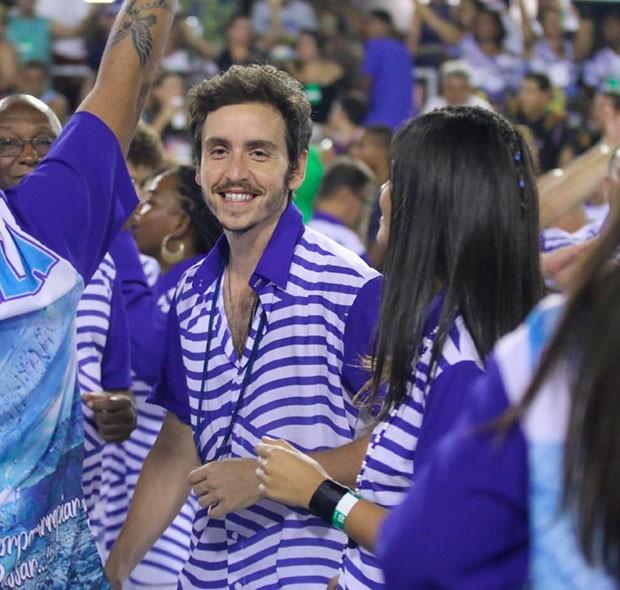 Antônia Moraes e Wagner Santisteban (Foto: Daniel Pinheiro /AgNews )