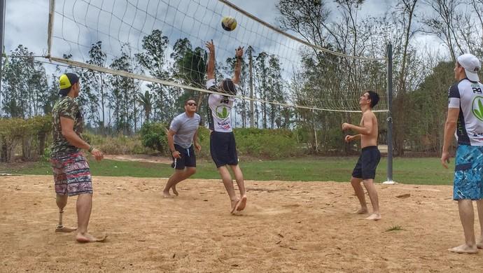 Anderson Nunes supera as limitações e muda de vida com o esporte (Foto: Anderson Nunes/ arquivo pessoal)