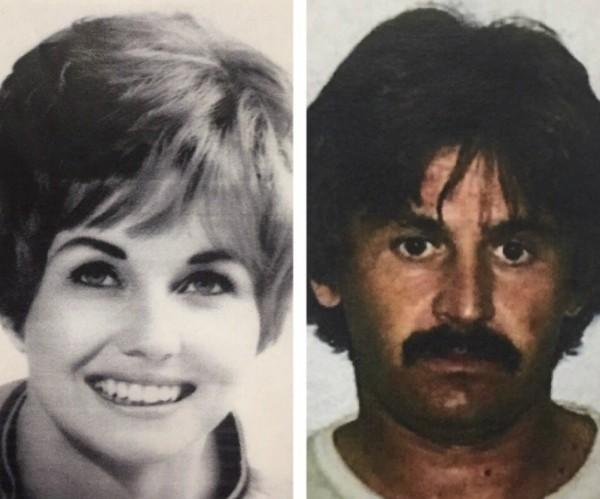 O assassino de Karen Klaas (Foto: Reprodução Twitter)
